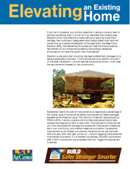 Great New Publication on Elevating Existing Homes
